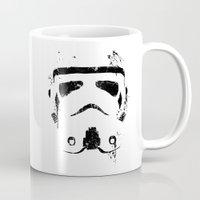trooper Mugs featuring Trooper by Purple Cactus