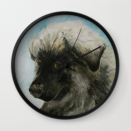A Tribute to Luca (a Shiloh Shepherd) Wall Clock
