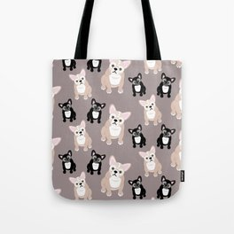 French Bulldog Puppies Tote Bag
