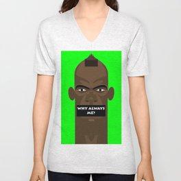 Mario Ballotelli T-shirt Design Unisex V-Neck