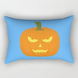 Evil light Halloween Pumpkin Rectangular Pillow