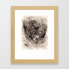 Ymir Butchered Framed Art Print