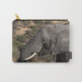 Elephant Detail II Carry-All Pouch