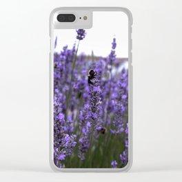 Lavender's Blue Clear iPhone Case