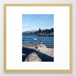 View of Lake Windermere - The Lake District, Cumbria Framed Art Print