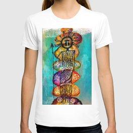 Celestial Spirit Totem-Barbara Chichester T-shirt