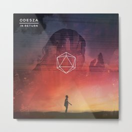 NEW ODESZA 33 TOUR DATES 2018 / 2019 BALIBA Metal Print