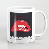 rocky horror picture show Mugs featuring No153 My The Rocky Horror Picture Show minimal movie poster by Chungkong