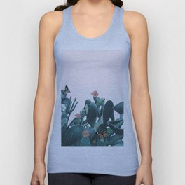 Cactus & Flowers - Follow your butterflies Unisex Tank Top