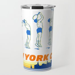 Tennis Rodman Travel Mug