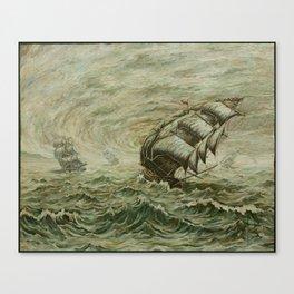 The Fleet Canvas Print
