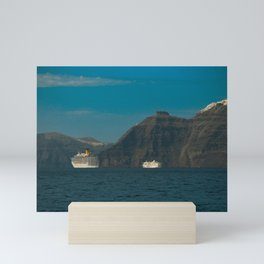 Santorini, Greece 5 Mini Art Print