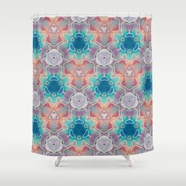 Dew Drop Honeysuckle Shower Curtain