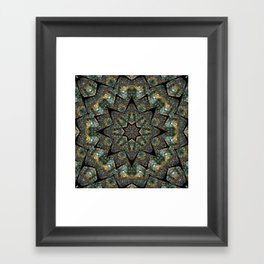 Labradorite Starlight Framed Art Print