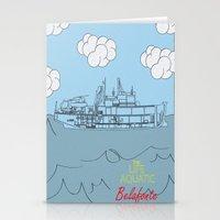 zissou Stationery Cards featuring Zissou Boat by Jarom Ward