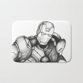 Iron Man Bath Mat