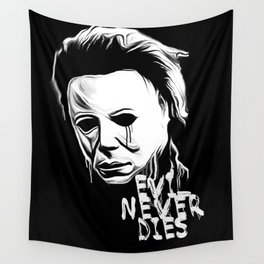Evil Never Dies Wall Tapestry