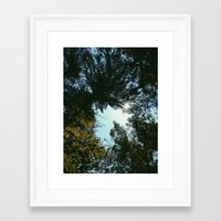 hiking Framed Art Prints featuring Hiking  by William Reynolds
