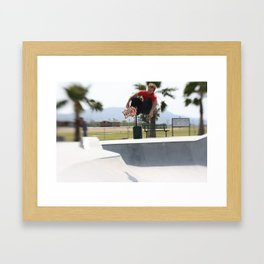 Dave England. Air Framed Art Print