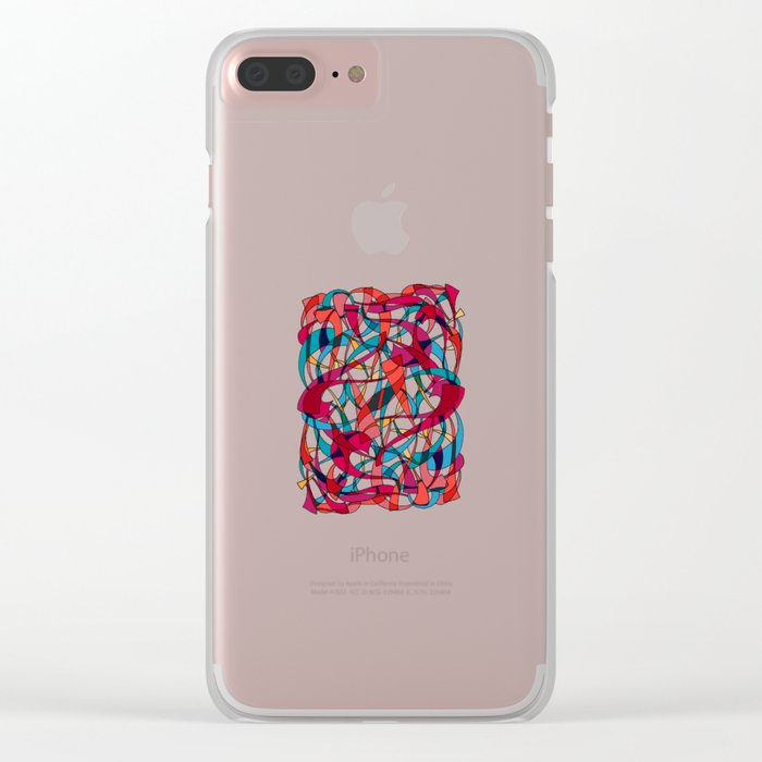 - dance - Clear iPhone Case