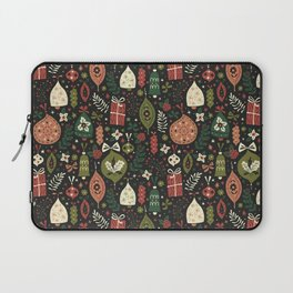 Holiday Ornaments Laptop Sleeve