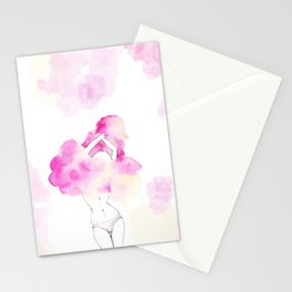 Undress your body Stationery Cards