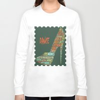dance Long Sleeve T-shirts featuring Dance by DagmarMarina