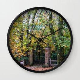 Mount Wilson, Blue Mountains Wall Clock