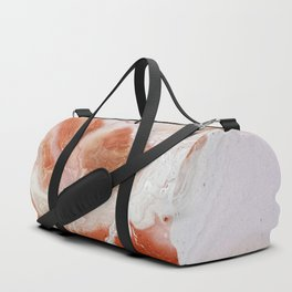 Dirty pink marble Duffle Bag