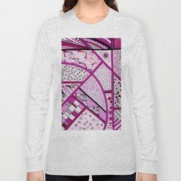 Fuschia Fantasy Long Sleeve T-shirt