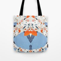 swedish Tote Bags featuring Swedish Lava by Pearlyn Chiam
