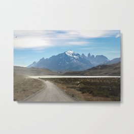 Patagonia Landforms  Metal Print