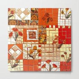 Medieval mosaic Metal Print