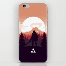 The Legend of Zelda - Orange Version iPhone & iPod Skin