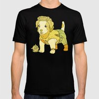 Kurt Russell Terrier - Jack Burton Mens Fitted Tee Black X-LARGE