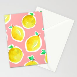 Lemon Crush 2 Stationery Cards