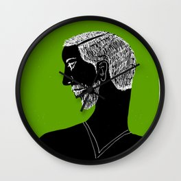 Young man Wall Clock