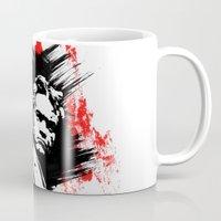 beethoven Mugs featuring Beethoven FU by viva la revolucion