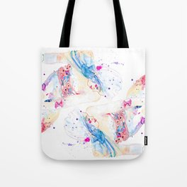 Jewel Fish Tote Bag