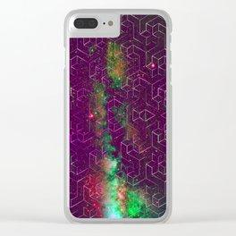 Star Field Clear iPhone Case