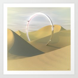 #Dune #Cycle - 20151101 Art Print