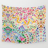confetti Wall Tapestries featuring Confetti by Love2Snap