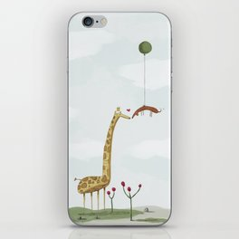Love Conquers Tall iPhone Skin