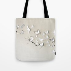 Butterfly Birds Tote Bag