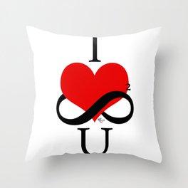 I ♥ U Throw Pillow