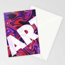 liquid. Stationery Cards