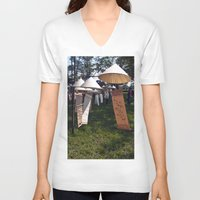 vietnam V-neck T-shirts featuring Hue-VietNam by nguyenkhacthanh