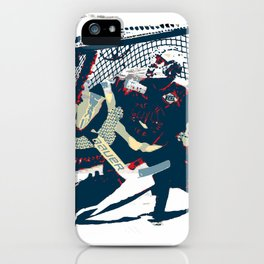 Goalie - Ice Hockey Player iPhone Case