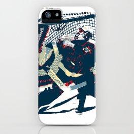 Goalie - Ice Hockey Player iPhone Case