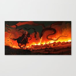 Unsung Hero - Courage Canvas Print